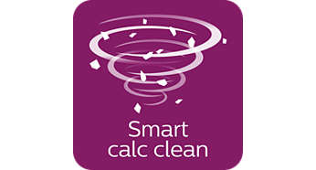 Intelligente Calc-Clean-herinnering met geluid en licht