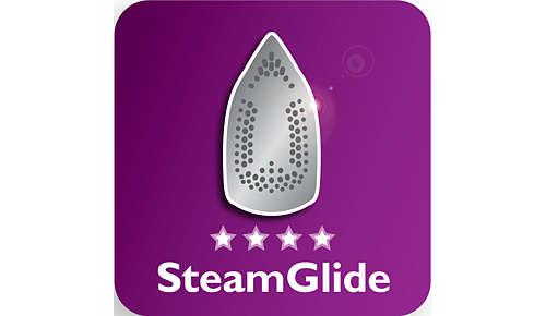 Leichtes Gleiten dank SteamGlide-Keramikbügelsohle