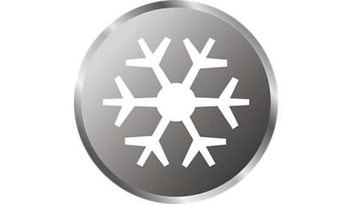 Ideale per la conservazione in frigorifero e nel congelatore