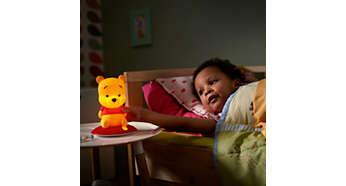 Rassure votre enfant la nuit