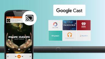 Google Cast ile telefondan hoparlöre kolayca müzik gönderin