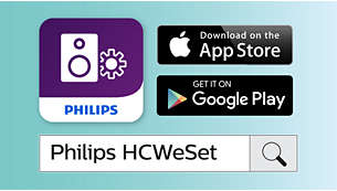 Application mobile Philips pour une configuration simple du réseau