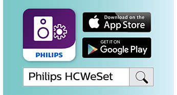 Philips companion app for easy network setup