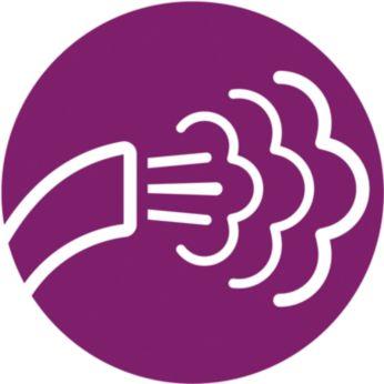 5режимов подачи пара для обработки различных тканей
