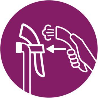 Автоматическая остановка подачи пара для экономии электроэнергии и воды