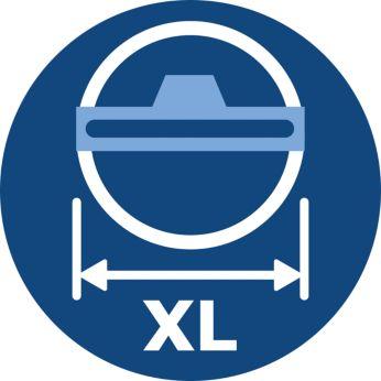 Более широкая насадка TriActive XL