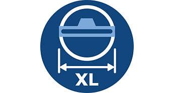寬度加大的 TriActive XL 吸頭