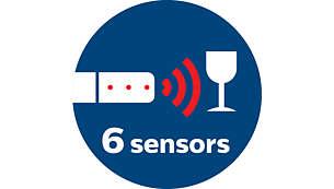 Infrarøde sensorer undgår sammenstød med forhindringer