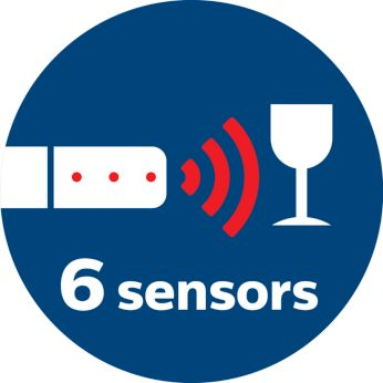 Infrared sensors to avoid bumping into obstacles