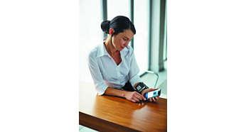 Tragbares Handgelenkgerät zur Messung des Blutdrucks an jedem Ort