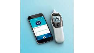 Überwachen Sie Ihre Temperatur über die Zeit