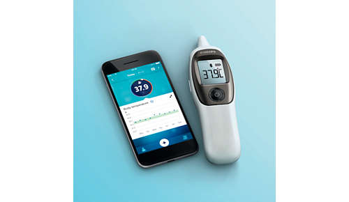 Monitor your temperature over time