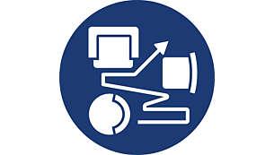 智慧型偵測系統可適應任何環境的清潔需求