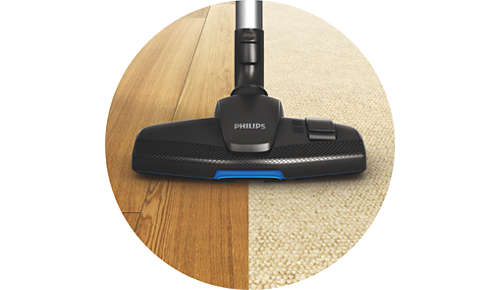New Multi Clean nozzle for thorough cleaning on all floors