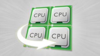 Procesador de cuatro núcleos para un rendimiento acelerado