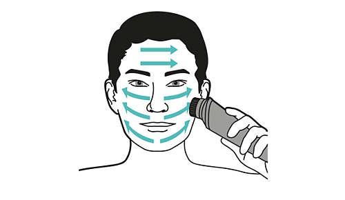 Solo 1 minuto per una pulizia del viso profonda