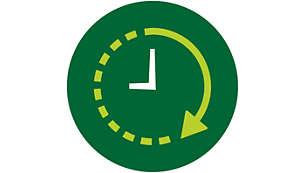 24 órás, előre beállítható időzítő gondoskodik arról, hogy az ételek időben elkészüljenek.