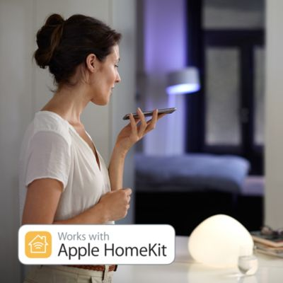 Compatible con la tecnología HomeKit de Apple