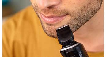 Definieren Sie die Konturen Ihres Barts oder Spitzbarts