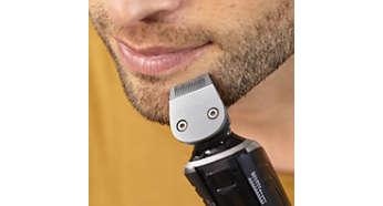Pour dessiner des contours nets pour votre barbe ou votre bouc