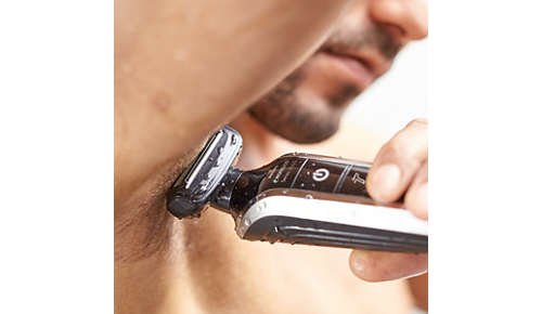 Shave your body with comfort while you are in the shower