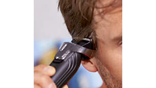 18 adjustable lengths (3-20 mm) for an even haircut