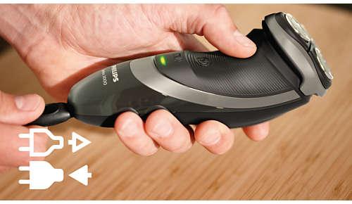 Kan användas både med och utan sladd