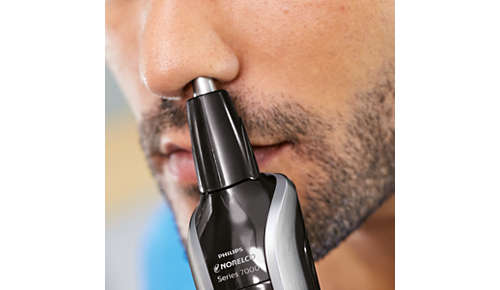 To trim unwanted hairs