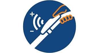 Uz daljinsko upravljanje bežičnom IC tehnologijom nema saginjanja