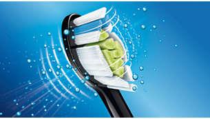 Tête de brosse DiamondClean pour des dents naturellement plus blanches