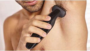 Ergonomic grip for maximum control
