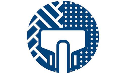 TriActive Turbo szívófej az erőteljes teljesítményért a szőnyegeken