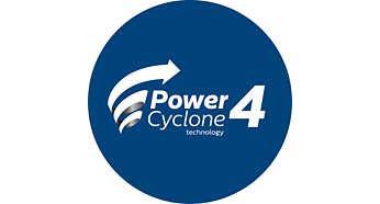 PowerCyclone-technologie voor uitstekende stofzuigprestaties