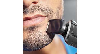 Define sharp lines around your beard or goatee
