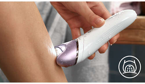 Esclusiva luce per non tralasciare i peli più sottili