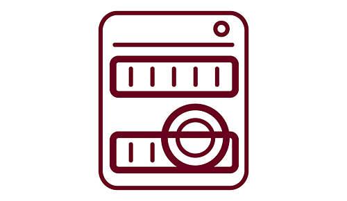 Spülmaschinenfester Aufschäumer und Deckel