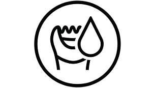 Για υγρή και στεγνή χρήση στο μπάνιο ή το ντους