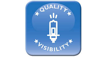 Superior quality with enhanced visibility