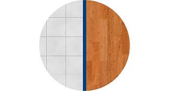 Vhodná pro tvrdé podlahy