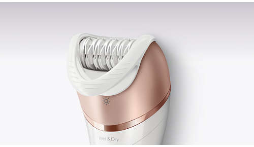 Urządzenie jest wyposażone w nasadkę do napinania skóry