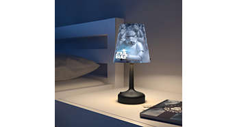 Ideal light for your bedside table or desk