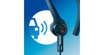 Avatud akustika võimaldab kuulda välishelisid, et tagada turvalisus