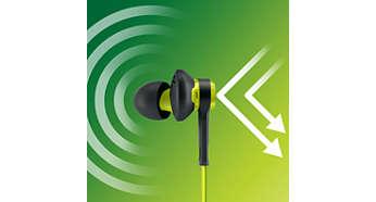 Ga helemaal op in uw training met geluidsisolatie