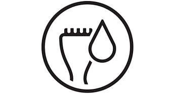 Rifinitore zona bikini Wet & Dry con pettine da 3 mm