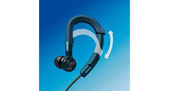 Patentirana prilagodljiva ušesna zanka za prilagodljivo prileganje