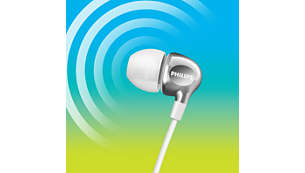 Мощни баси и чист звук чрез ефективни мембрани