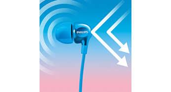 Etanşarea perfectă în ureche blochează zgomotele exterioare