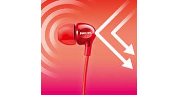 Isolamento auricolare perfetto per eliminare i rumori esterni