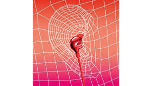 Ovale Tonröhre für ergonomischen Tragekomfort