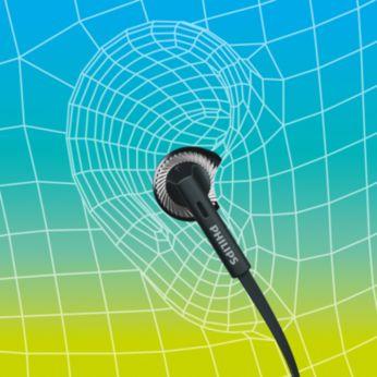 Diseñados para adaptarse a la forma de la oreja cómodamente
